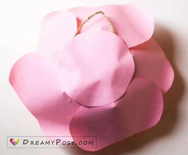 Giant Rose Template New Free Template and Full Tutorial to Make Giant Rose for