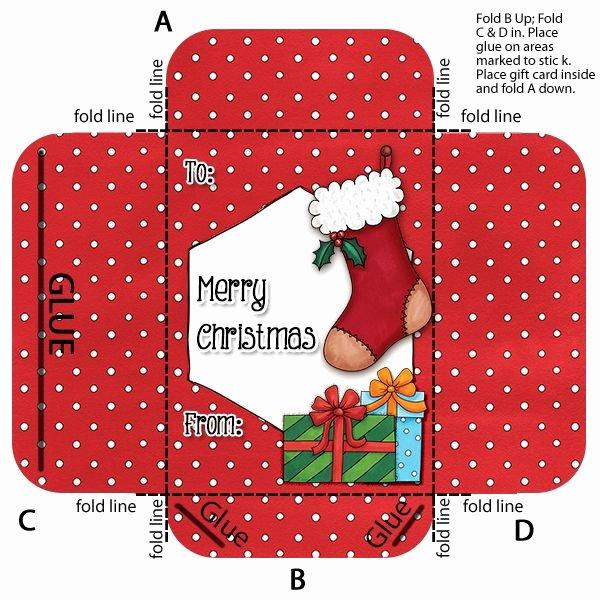 Gift Card Envelope Templates Fresh Make Your Own Gift Card Envelope Holder