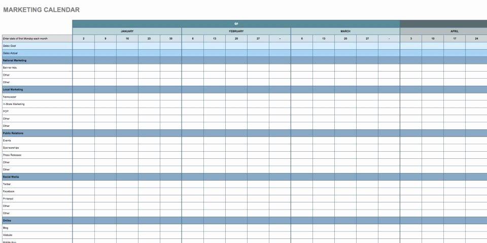 Google Sheets Travel Itinerary Template Elegant Free Google Calendar Templates