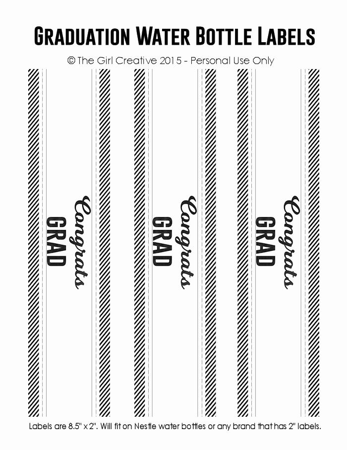Graduation Address Labels Template Free New 28 Of 2016 Graduation Template Free Printable Label