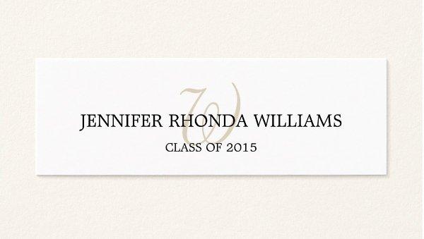 Graduation Name Cards Template Elegant 7 Graduation Name Cards Free Psd Vector Eps Png