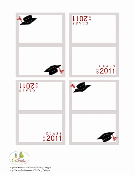 Graduation Name Cards Template Fresh 28 Of 2016 Graduation Template Free Printable Label