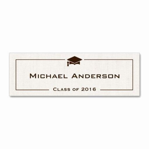 Graduation Name Cards Template Inspirational 21 Best Images About Graduation Name Cards On Pinterest