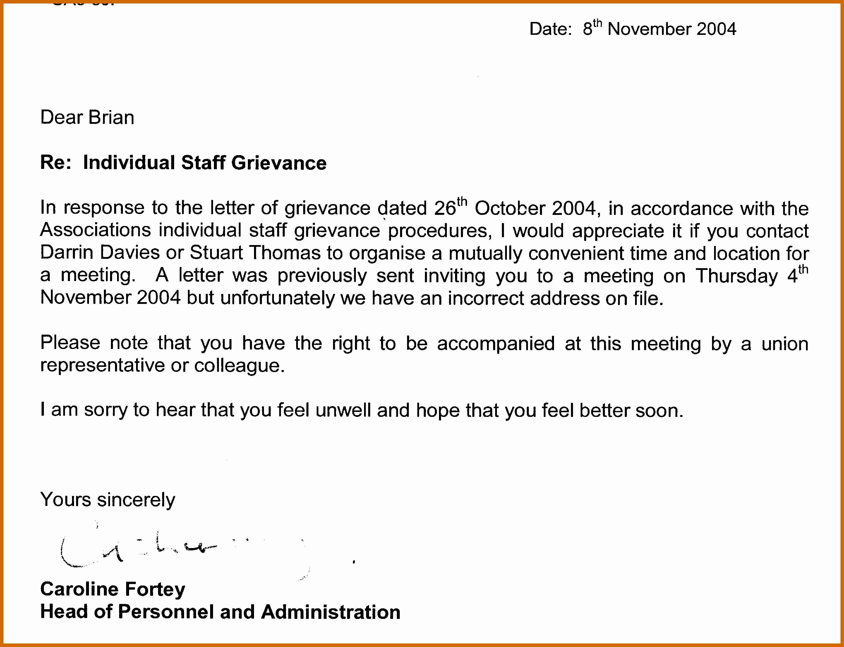 7 8 grievance appeal letter