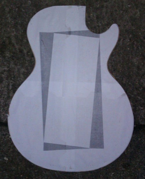 "Guitar Cake Template Awesome Guitar butchery 2 ""lp S"" and It S Not A Cake This Time"