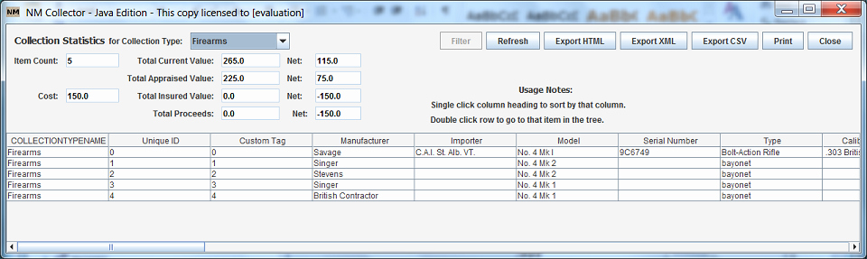 Gun Inventory Spreadsheet Best Of About Nm Collector software Cmp forums