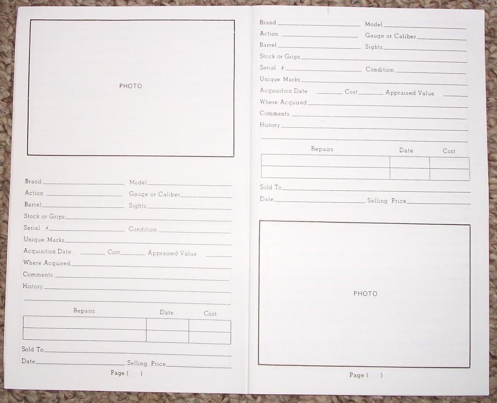 Gun Inventory Spreadsheet Fresh 12 Best S Of Free Printable Gun Inventory form