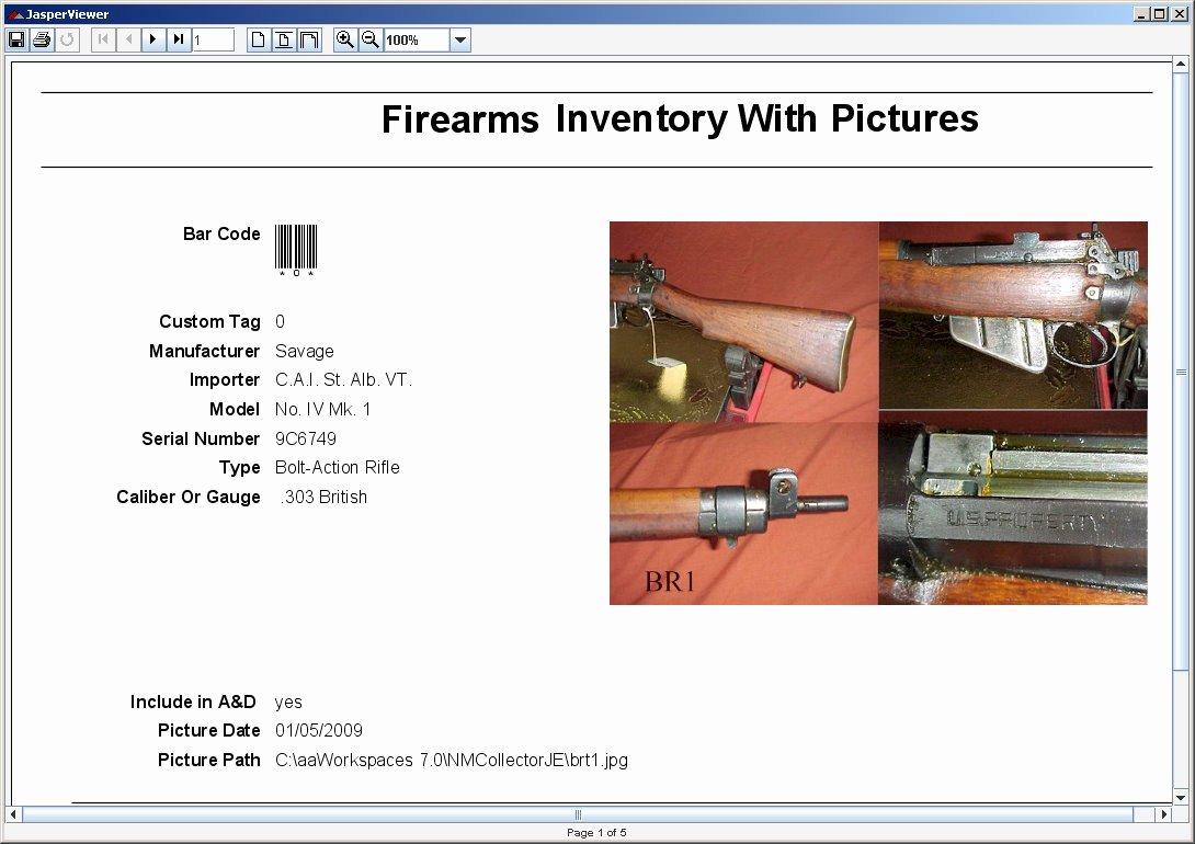 Gun Inventory Spreadsheet Fresh Firearms Inventory Spreadsheet