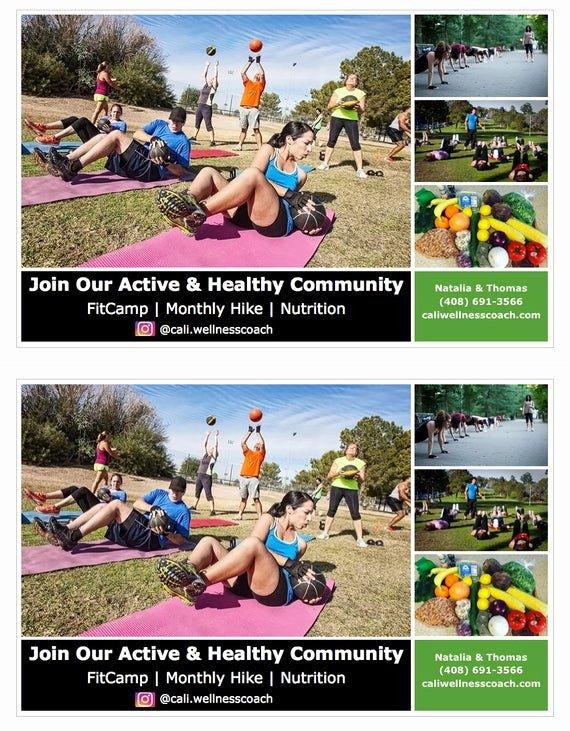 Herbalife Flyer Sample Best Of Herbalife Fitcamp Workout Flyer Bonus Shake Party Template