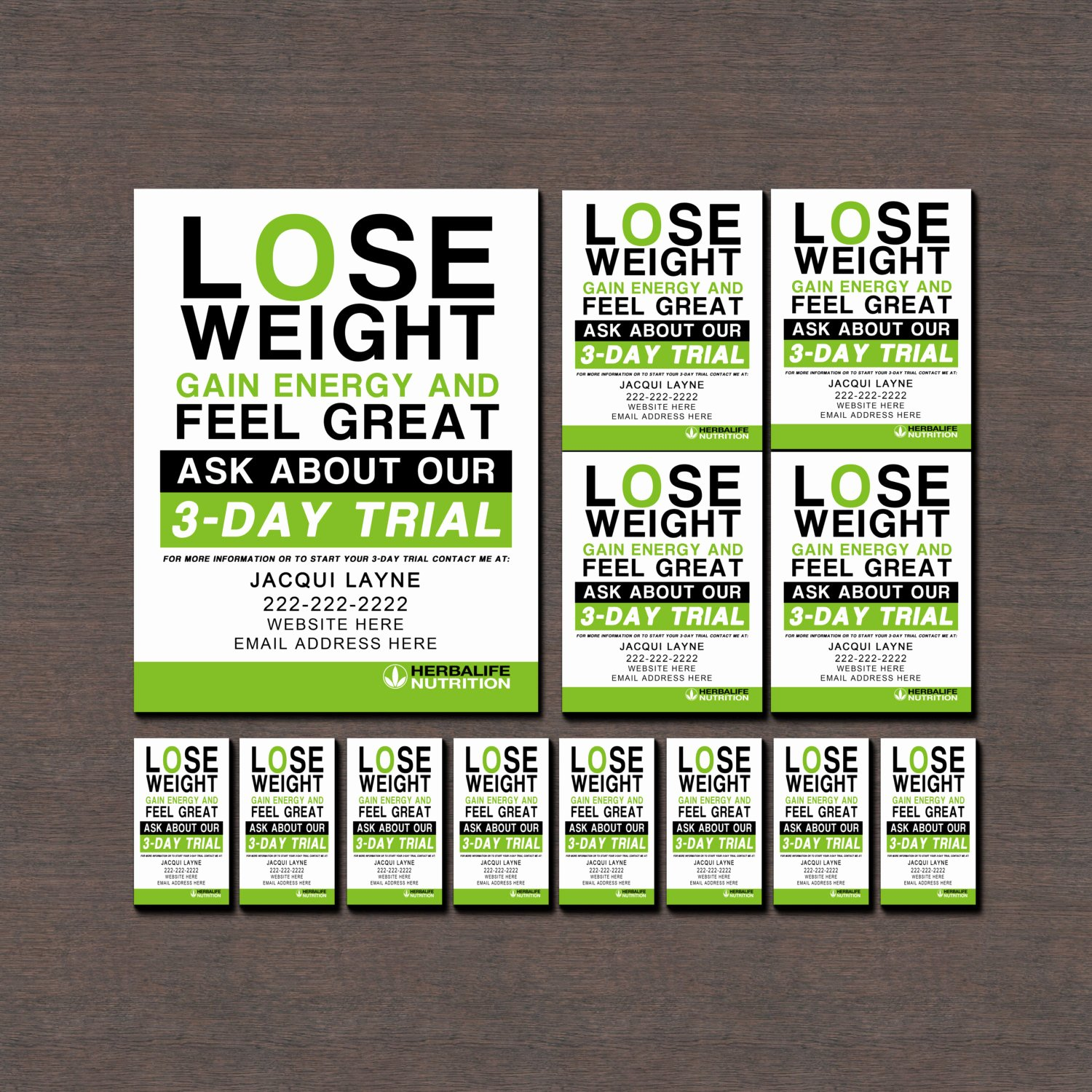 Herbalife Flyer Template Beautiful Herbalife Flyers and Business Cards by Wackyjacquisdesigns