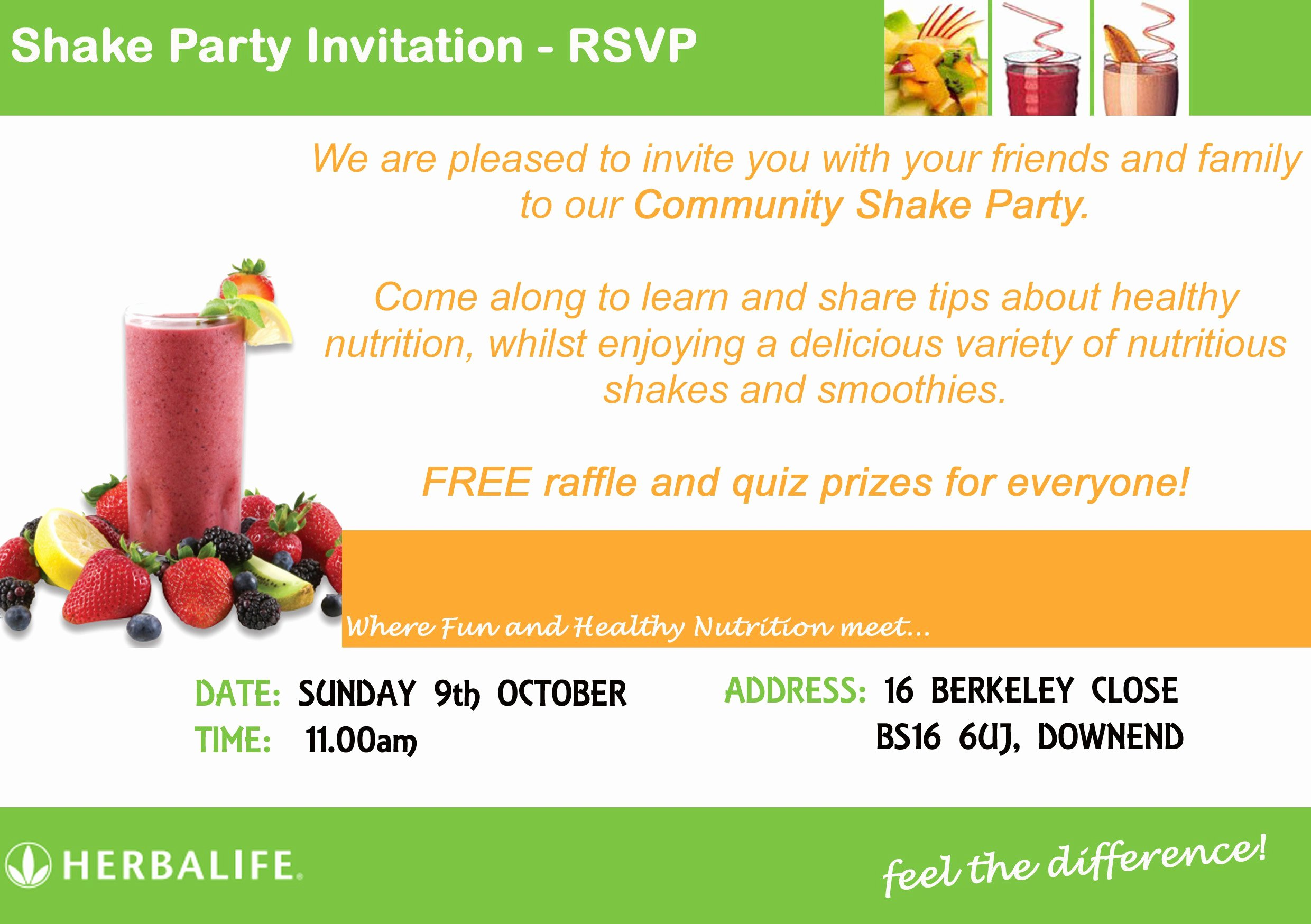 Herbalife Flyers Template Awesome Sample Flyer Invitation