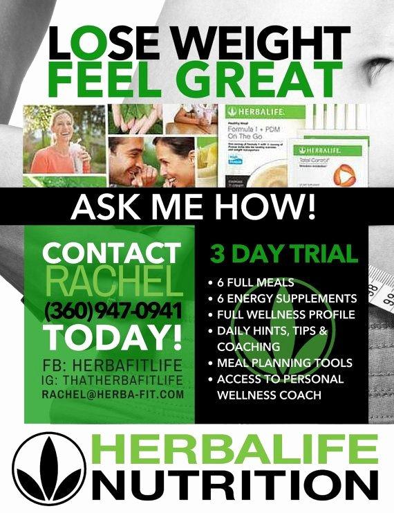 Herbalife Flyers Template New Herbalife Flyer Template Graficasxerga