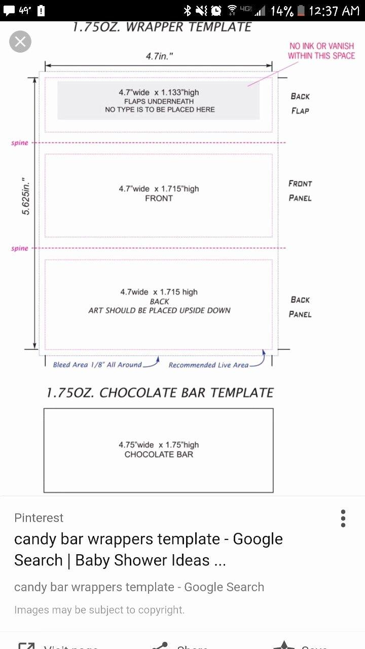 Hershey Bar Wrapper Dimensions Elegant Pin by Kelly Schnetzer On Nani & Papa S 60th