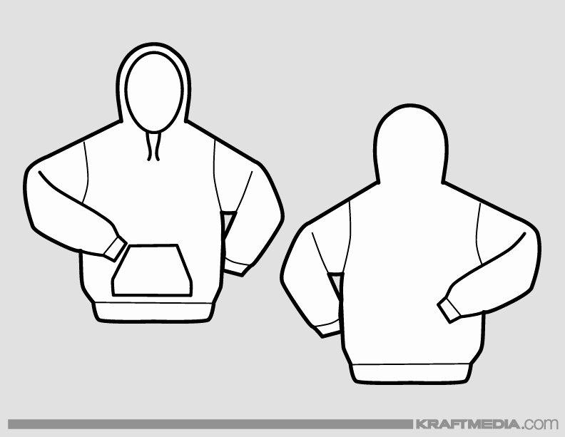 Hooded Sweatshirt Template Beautiful Kraftmedia Custom Decorated Merchandise T Shirt Printing