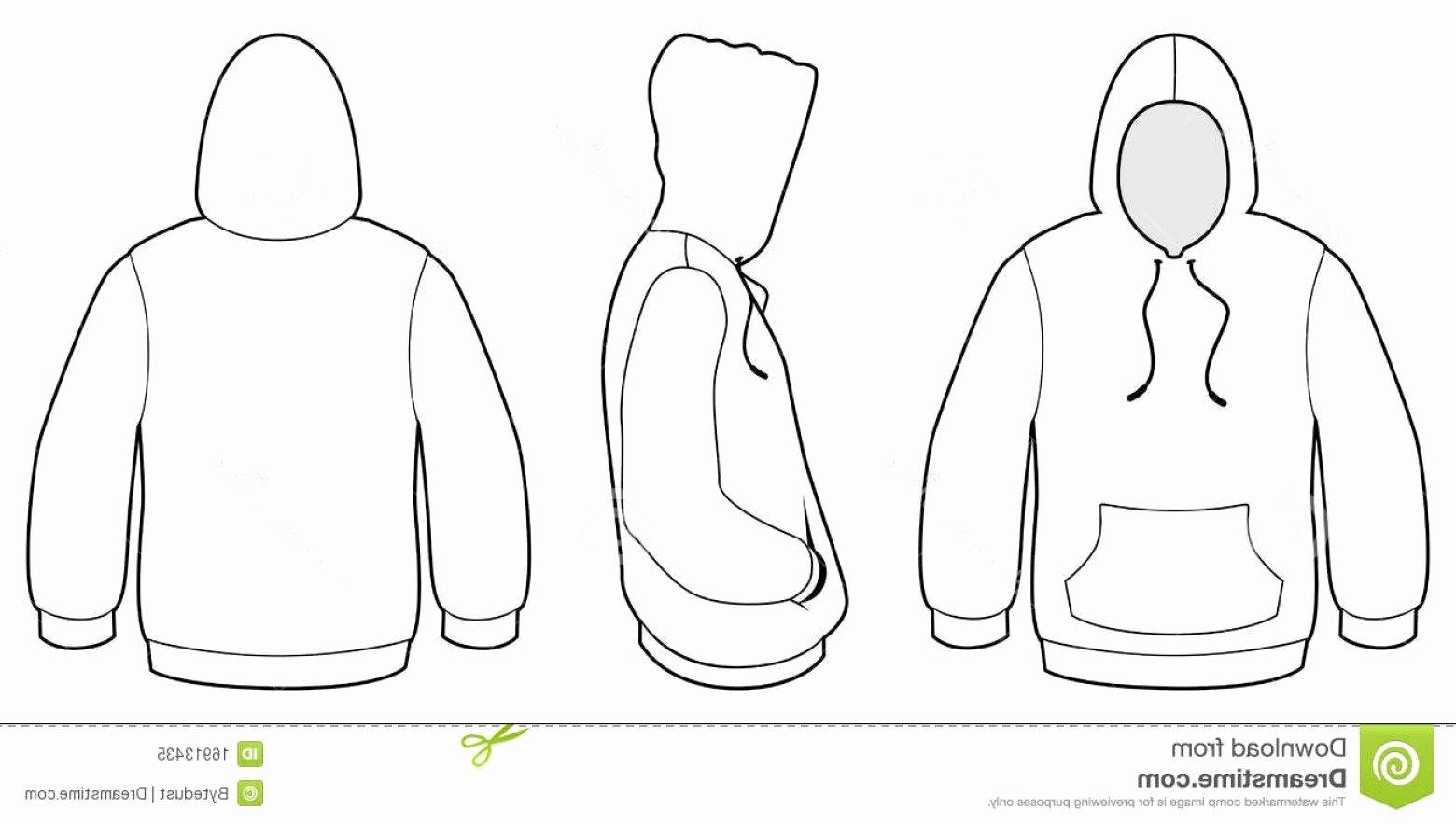 Hooded Sweatshirt Template Best Of Hooded Sweatshirt Template Vector