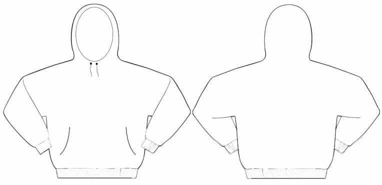 Hooded Sweatshirt Template Best Of Merchandise Templates