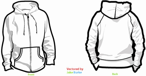 Hooded Sweatshirt Template Best Of Sweatshirt Clipart
