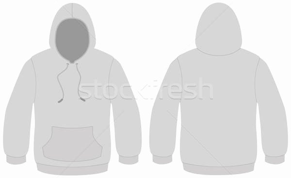 Hooded Sweatshirt Template Unique Hoo Template Stock S Stock and Vectors