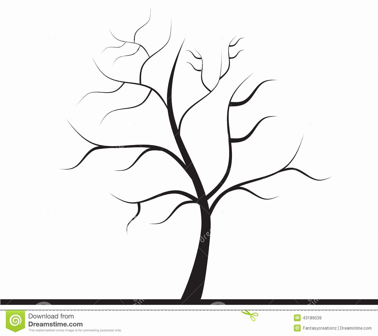 How to Draw A Simple Tree without Leaves Beautiful Tree without Leaves Stock Image Image Of Firm Clipart