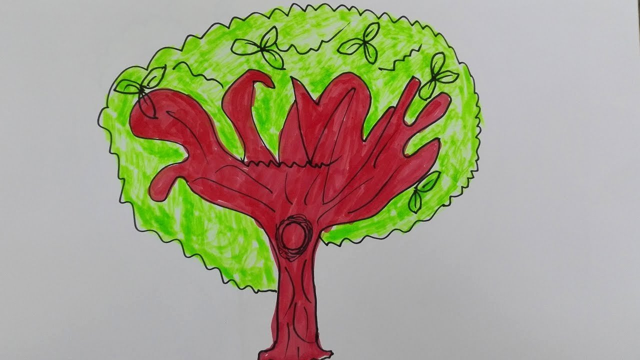 How to Draw A Simple Tree without Leaves Elegant How to Draw An Old Oak Tree Simple Oak Tree Drawing Draw