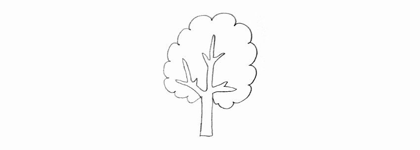 How to Draw A Simple Tree without Leaves Elegant How to Draw Trees