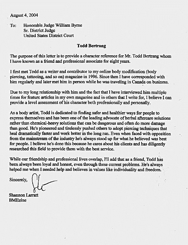How to Write A Letter to A Judge Template Lovely Letters Judges before Sentencing Sample Character Letter