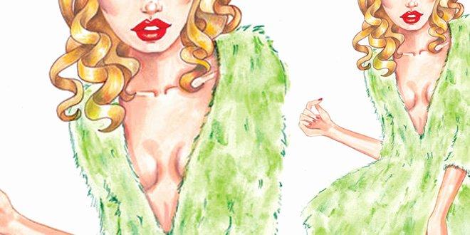I Draw Fashion Awesome How to Draw Fur