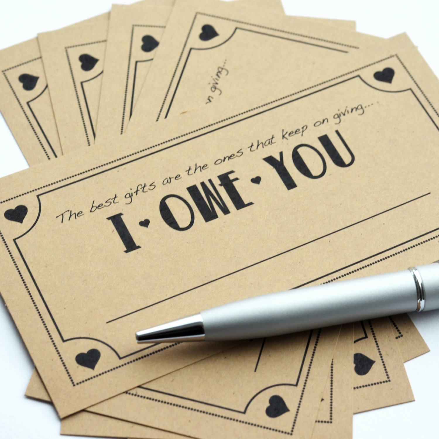 I Owe You Template Awesome Coupon Pack Cute I Owe You Love Coupon Pack for