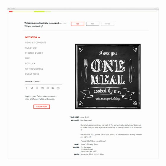 I Owe You Template Awesome I Owe You Invitations & Cards On Pingg