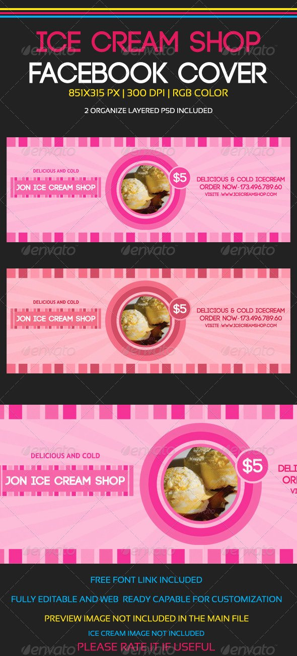 Ice Cream social Flyer Template Best Of Free Flyer Template for Ice Cream social Dondrup