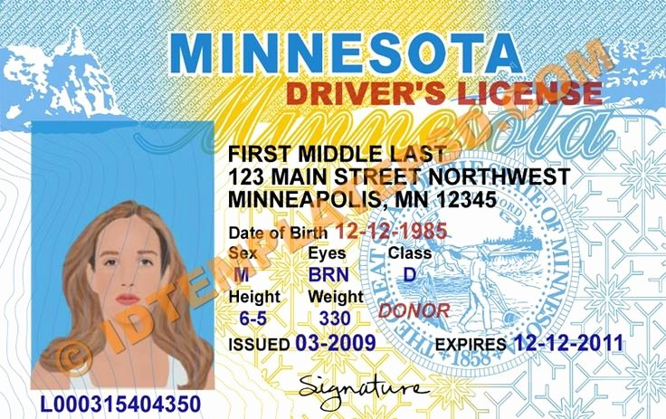 Id Card Template Photoshop Awesome 54 Best Images About Novelty Psd Usa Driver License