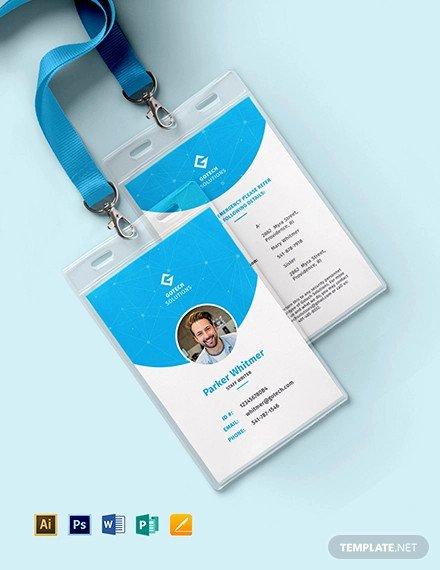 Id Card Template Photoshop Beautiful 22 Identity Card Designs Word Psd