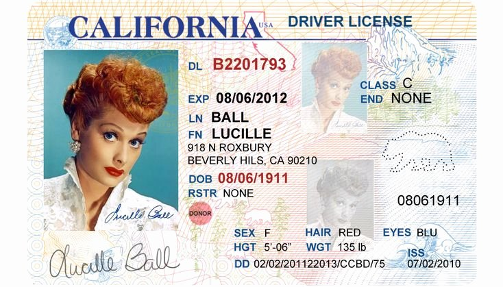Id Card Template Photoshop Best Of California Driver S License Editable Psd Template Download