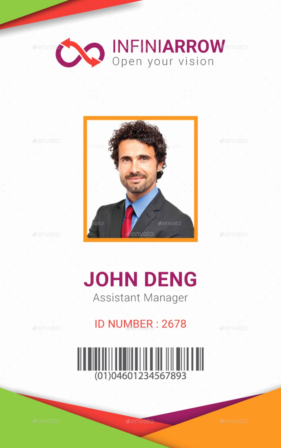 Id Card Template Photoshop Best Of Multipurpose Business Id Card Template by Dotnpix