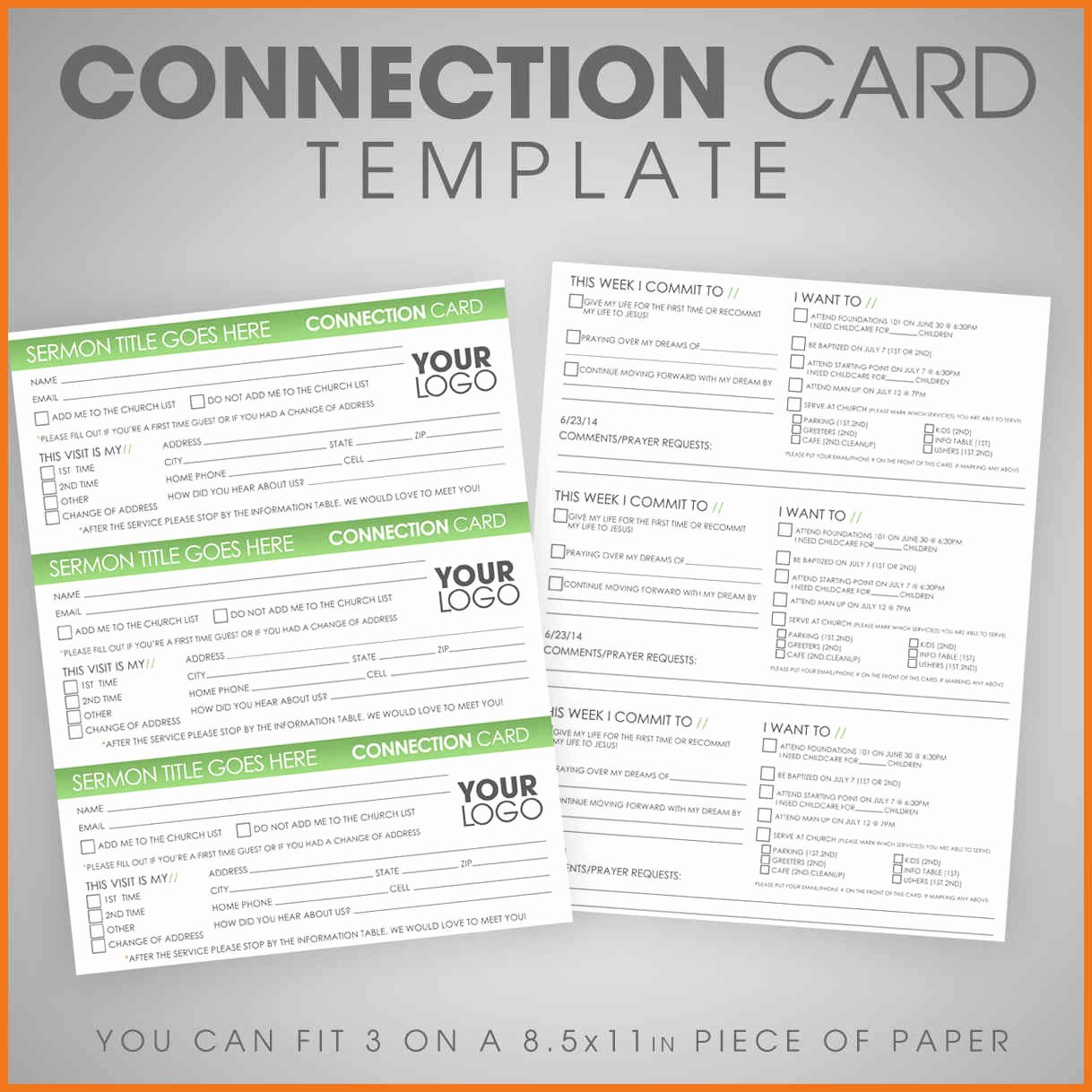 Information Card Template Beautiful 7 8 Information Card Template