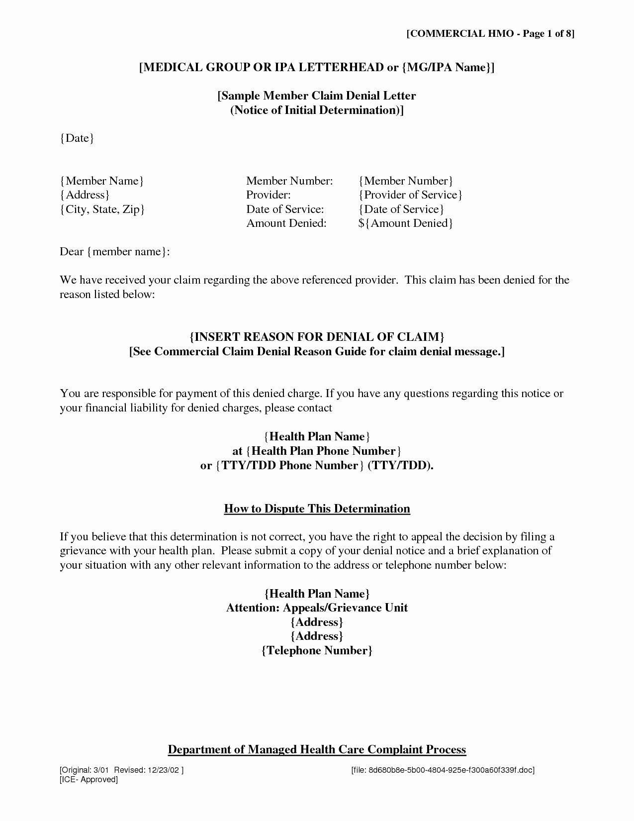 Insurance Demand Letter Elegant Insurance Demand Letter Template Collection