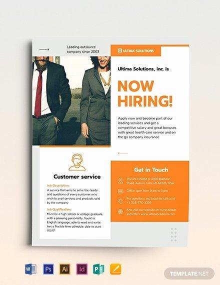 Job Flyer Template Word Lovely 16 Job Fair Flyers Word Psd Ai Indesign