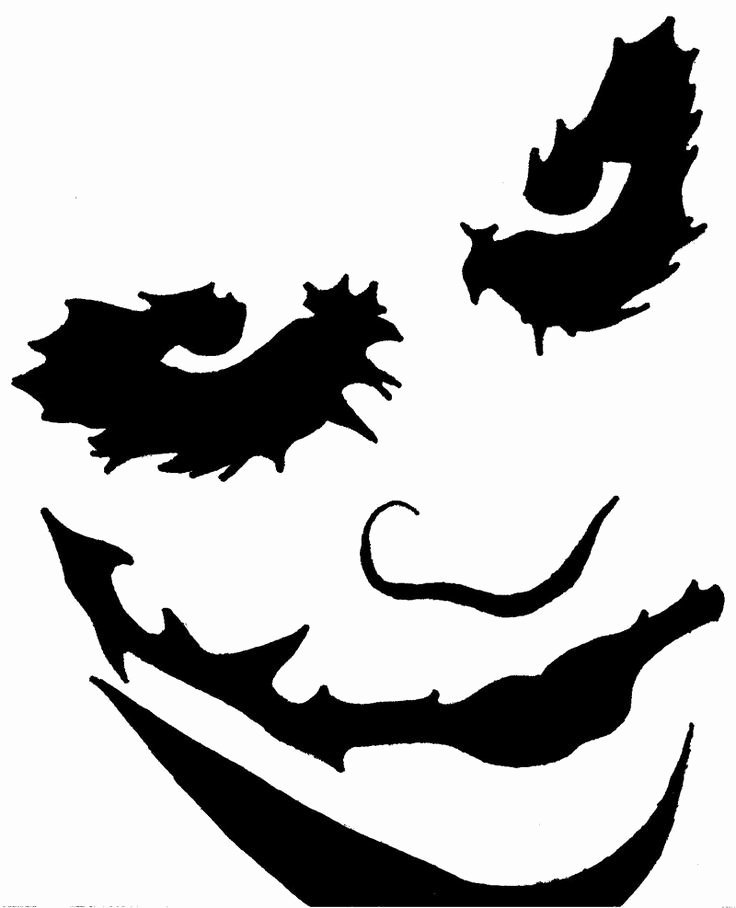 Joker Pumpkin Stencils Luxury Pin by Jorge Simborth Escudero On Joker