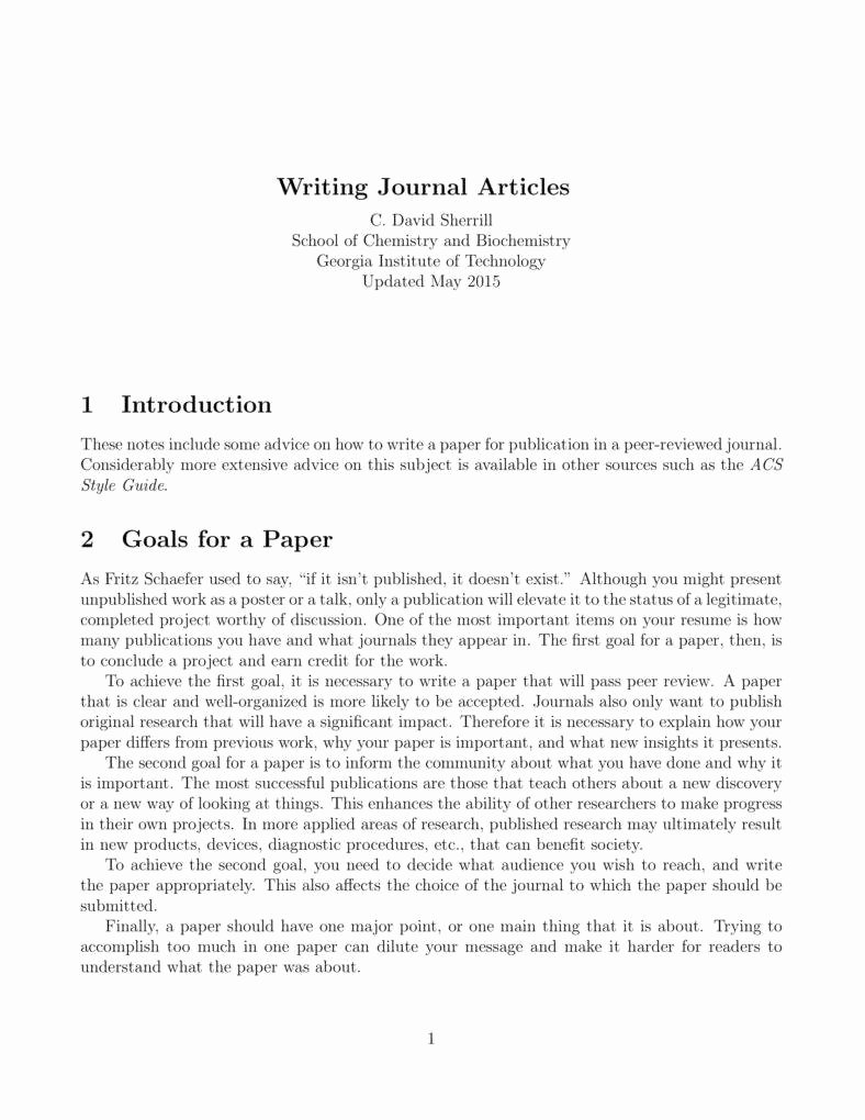 journal writing template