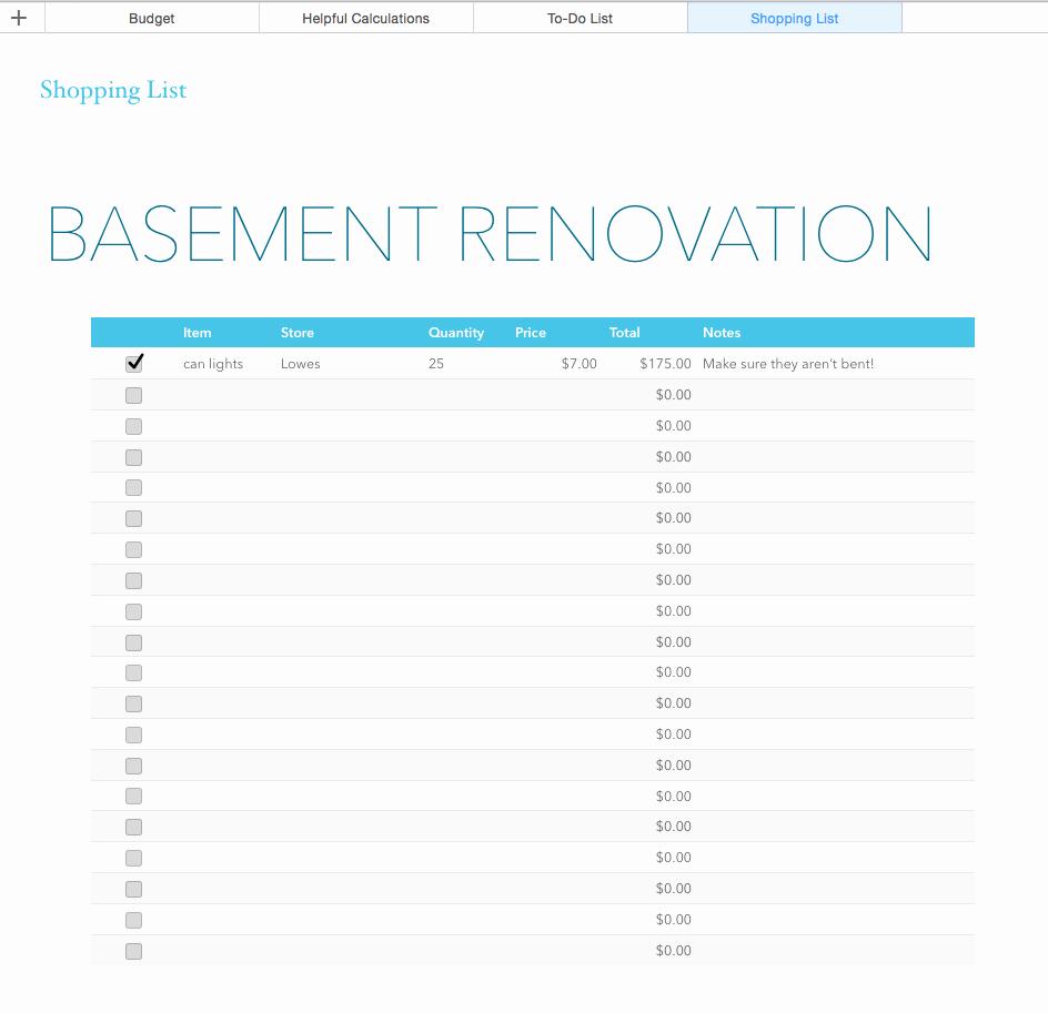 Kitchen Remodel Checklist Excel Best Of Kitchen Remodel Bud Spreadsheet Template – Wow Blog