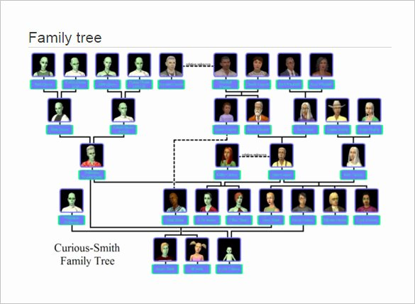 Large Tree Template Beautiful Family Tree Template – 13 Free Sample Example
