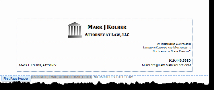 law firm letterhead 466