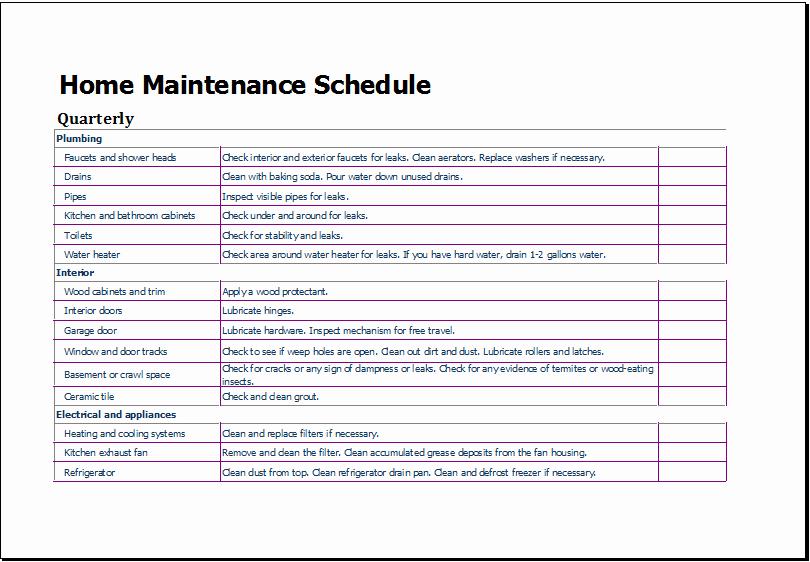 Lawn Mowing Schedule Template Elegant Lawn Maintenance Schedule Template