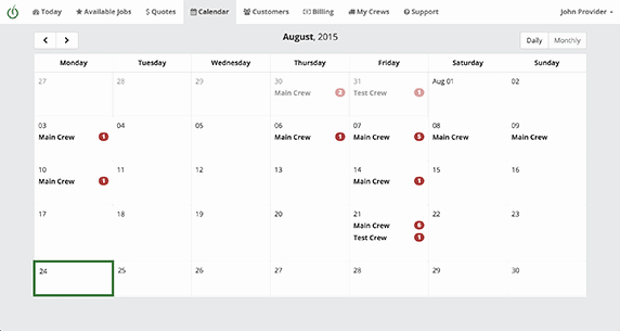 Lawn Mowing Schedule Template Lovely Free Lawn Care software