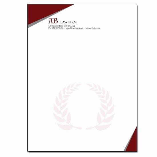 Legal Letterhead Templates Best Of Legal Firm Letterheads Legal Letterhead