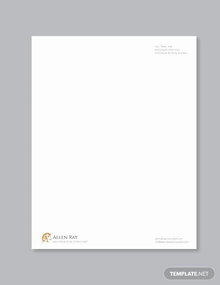 Legal Letterhead Templates Best Of Legal Letterhead Template 17 Free Psd Eps Ai