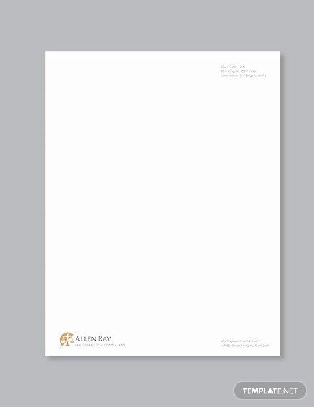 Legal Letterhead Templates Best Of Legal Letterhead Template 17 Free Psd Eps Ai