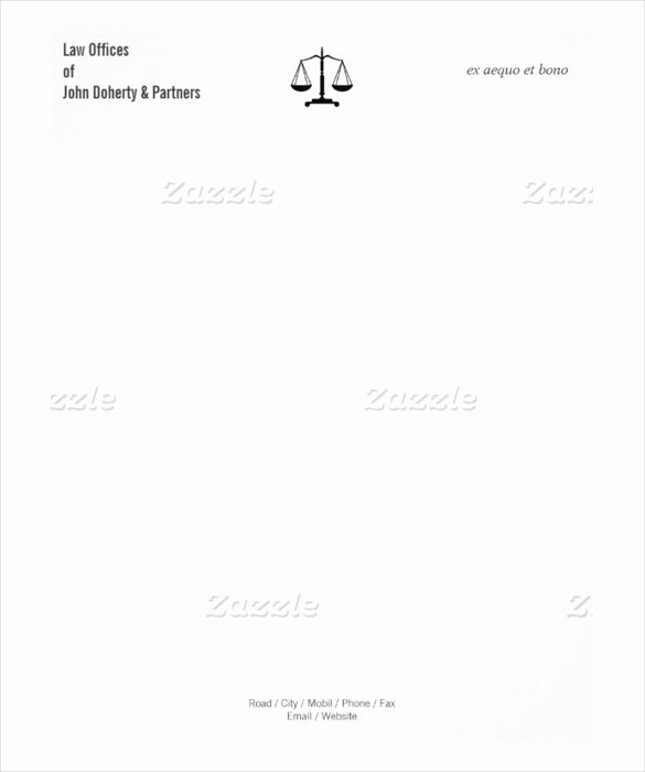 Legal Letterhead Templates Fresh Free Legal Plaint form Template form Resume