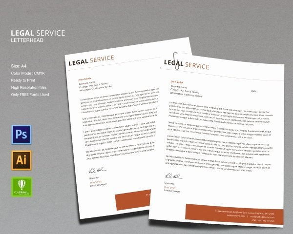 Legal Letterhead Templates Lovely 14 Legal Services Templates Psd Ai Eps Cdr format