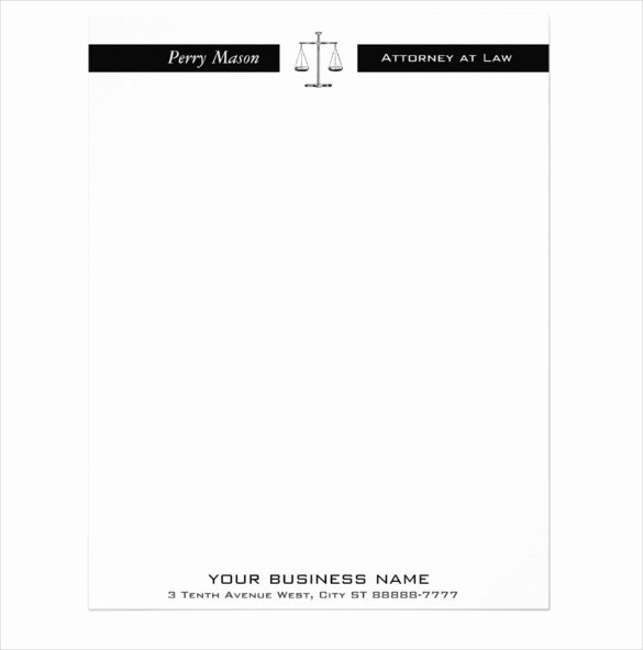 Legal Letterhead Templates New Fake Lawyer Letterhead